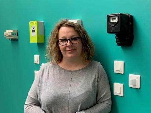 Portrait d'Emmanuelle, l'une des responsables d'équipe du service client d'ekWateur
